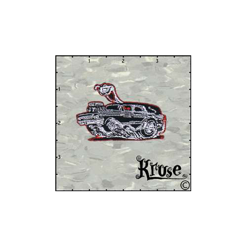 Kruses Hot Rod Hearse Patch