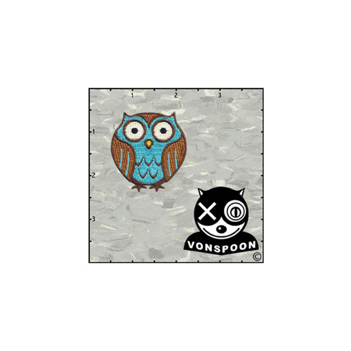 Chico Von Spoons Owl Patch