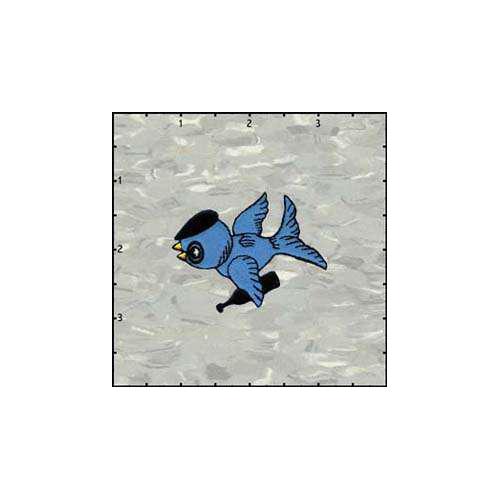 Bergs Bluebird Dude Patch