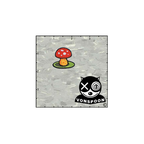 Chico Von Spoons Mushroom Solo Patch