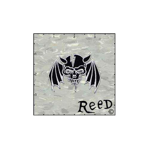 Fuzzy Dude Reeds Skull Black Winged