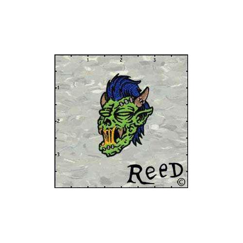 Fuzzy Dude Reeds Zombie