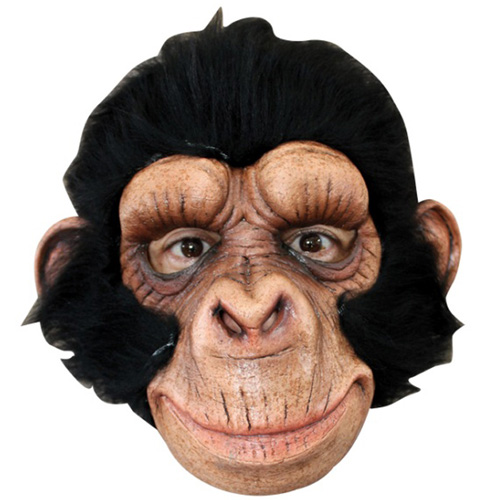 Curious Chimp Costume Mask