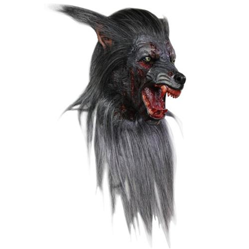 Black Wolf Costume Mask