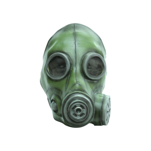 Smoke Olive Gas Mask