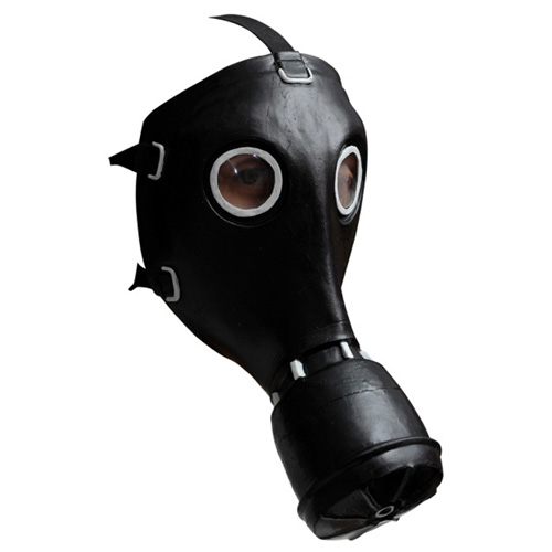 GP-5 Russian Costume Gas Mask - Black
