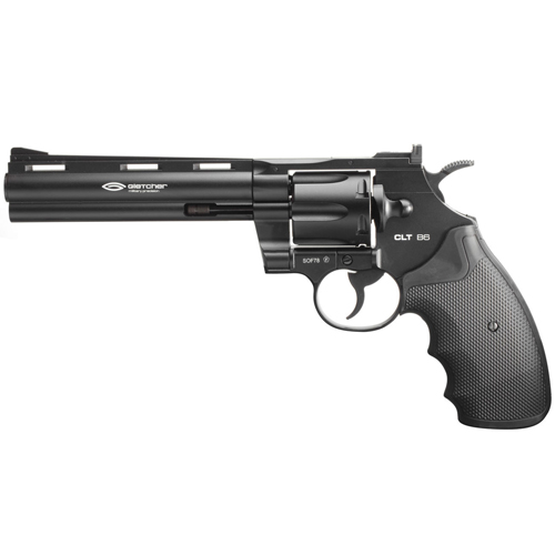 CLT B6 Full Metal 6 Inch Barrel CO2 BB Revolver