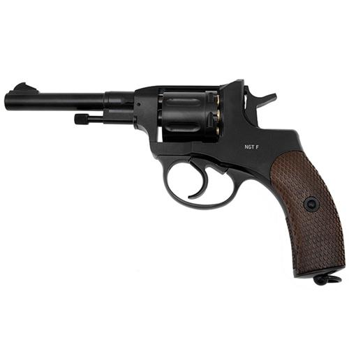 Gletcher NGT F Nagant Revolver BB Gun - Black