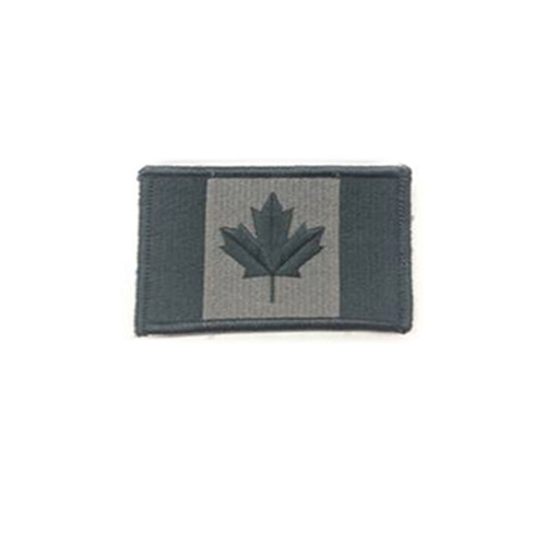 Large Foliage Canada 3 3/8 x 2 Inch Patch Iron On