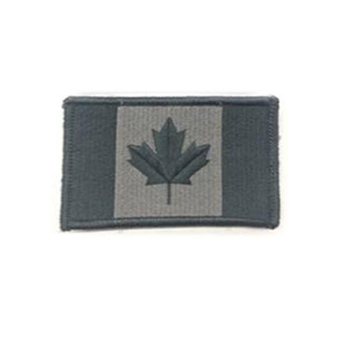 Medium Foliage Canada 3 x 1 3/4 Inch Patch Iron On