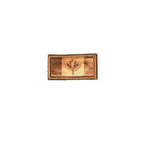 Small Desert Canada 2 x 1 Inch Patch Hook and Loop Backing