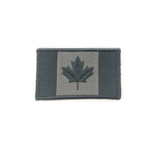 Small Foliage Canada 2 x 1 Inch Patch Hook and Loop Backing