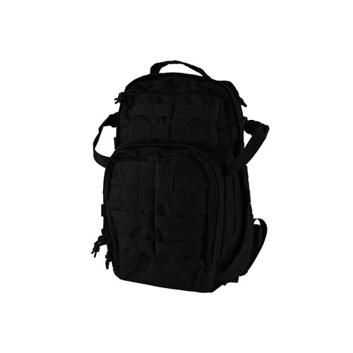 Tactical Medium Duty Black Backpack