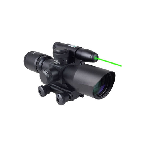 Tactical Rifle Laser Green Sight Scope