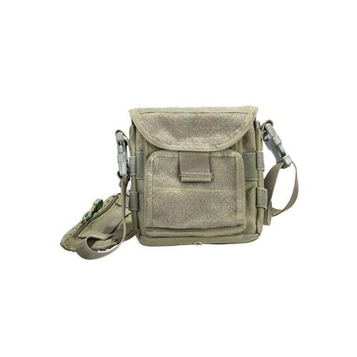 Shoulder Map Olive Bag