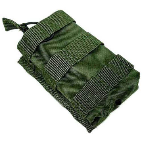 Tactical Olive Drab Radio Pouch