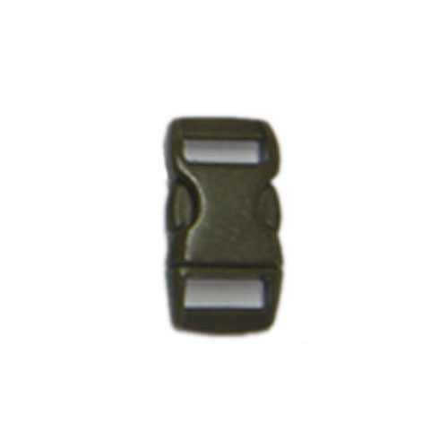 Olive Drab 3/8 Inch Plastic Buckle