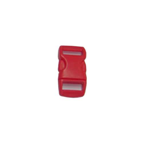 Orange Red 3/8 Inch Plastic Buckle