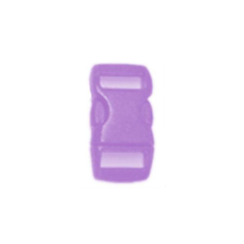 Purple 3/8 Inch Plastic Buckle