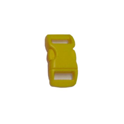 Yellow 3/8 Inch Plastic Buckle