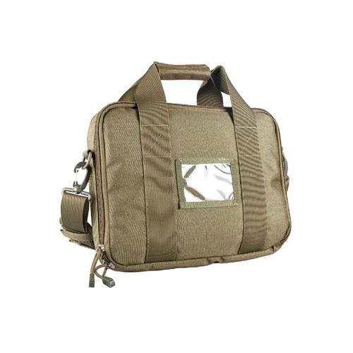 Tactical Olive Drab Shoulder Bag With Front ID Holder