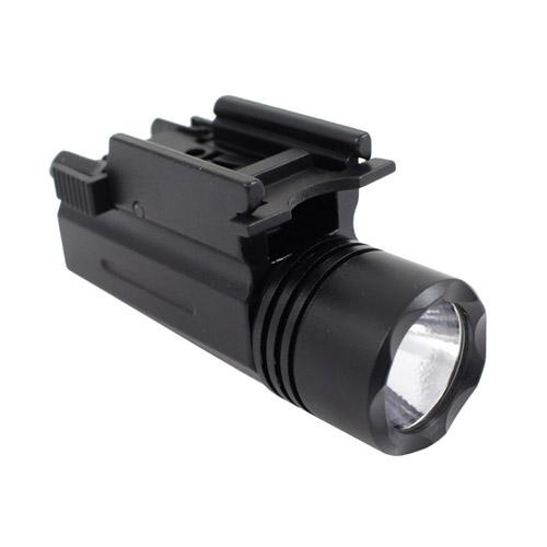 60 Lumen Tactical Flashlight with Weaver Mount