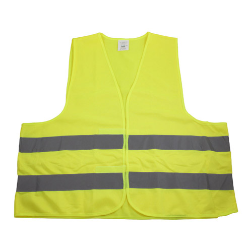 Hi-Vis Work Vest with Reflective Tape