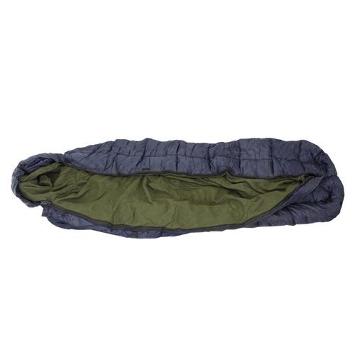 Large Blue/Green Sleeping Bag w/ Liner