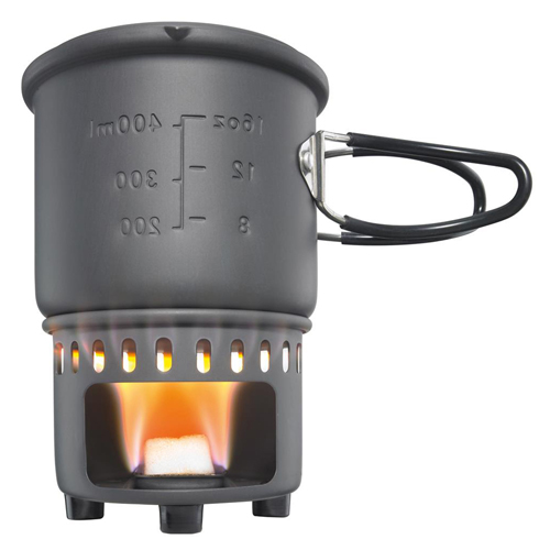 Esbit Solid Fuel Stove Plus Cookset