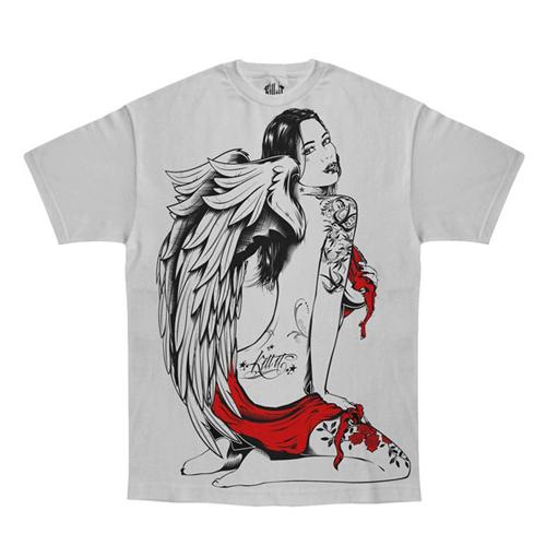 Grey Kill It Angelica T-Shirt