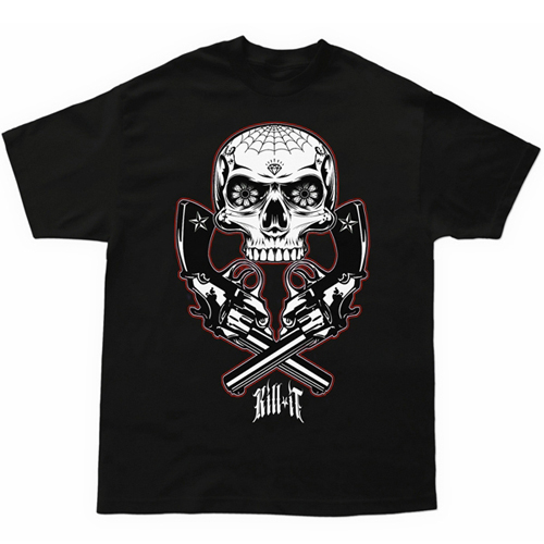 Black Kill It Doublecrossed T-Shirt
