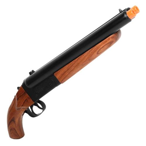 Mad Max Full Metal Real Wood Airsoft Double Barrel Gas Shotgun