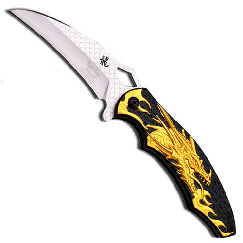 Dark Side Blades 4.75 Inch Stainless Steel Folding Knife