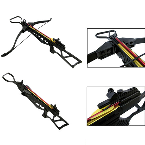 Black Composite Handle Foldable Limb Crossbow