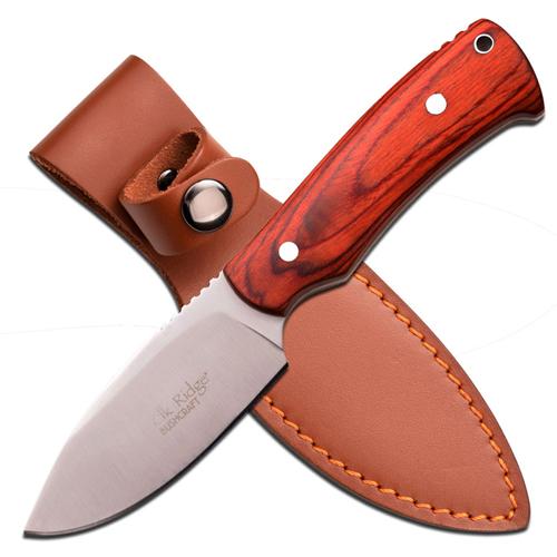 ELK Ridge ER-551LW 7.5 Inch Light Brown Fixed Knife