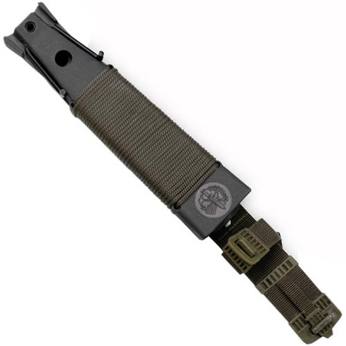 Survivor Clip Point Knife and Survival Kit