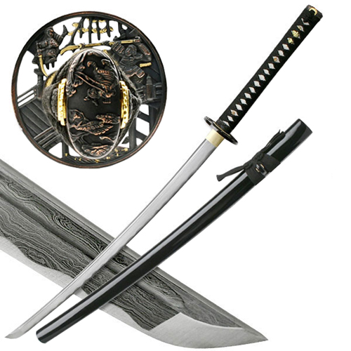 Ten Ryu MAZ-400 40 Inch Overall Samurai Sword