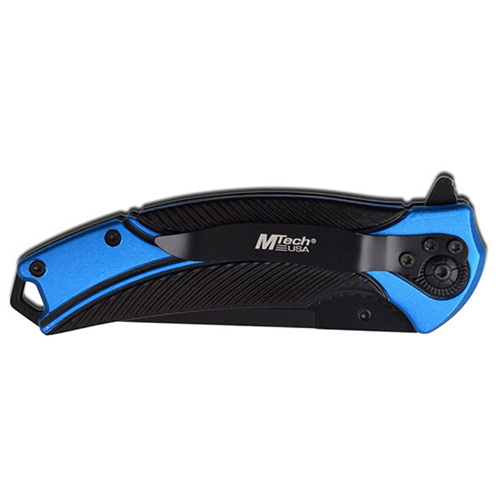 MTech USA MT-A1010BL Spring Assisted Knife - Blue
