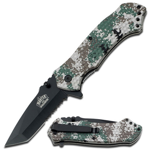 Master USA MU-A009 Military Camo Folding Knife