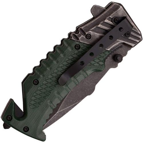 A028 Nylon Fiber Handle Folding Knife