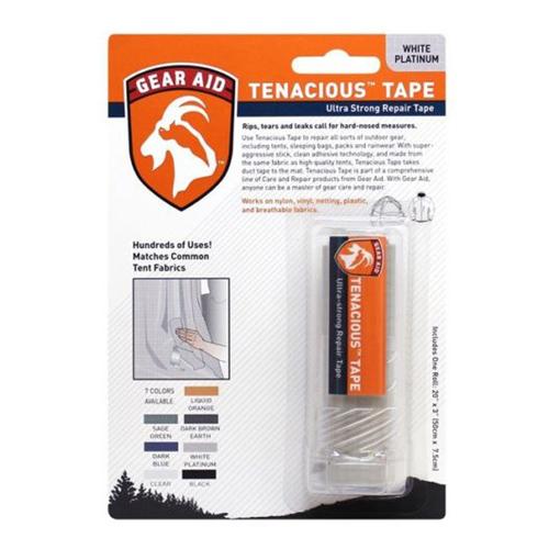 McNett Tenacious Platinum 3 Inch x 20 Inch White Clean Tape