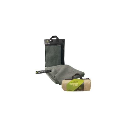McNett Outgo Microfiber Med Moss Towel 20 Inch  X 40 Inch