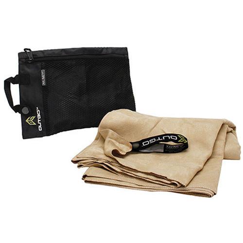 McNett Outgo Extra Large Khaki Microfiber Towel