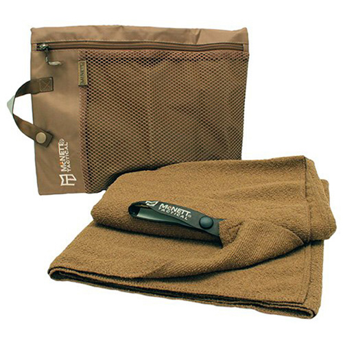 McNett Tactical Large Coyote Microterry Towel