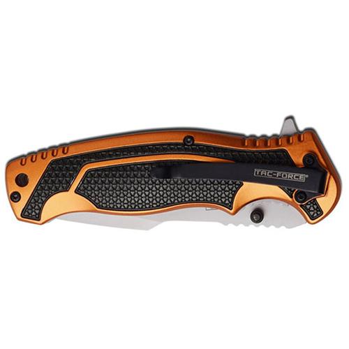 Tac-Force TF-960OR Spring Assisted Folding Knife - Orange