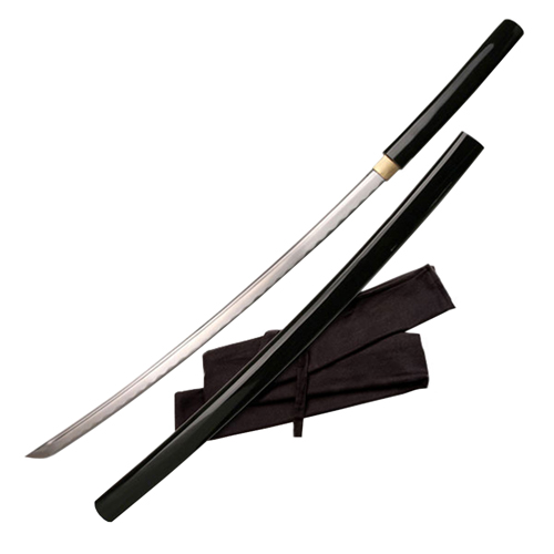 Ten Ryu Black Wood Handle Samurai Sword