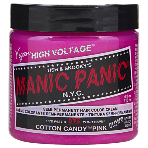 High Voltage Classic Cream Formula Cotton Candy Pink Hair Color