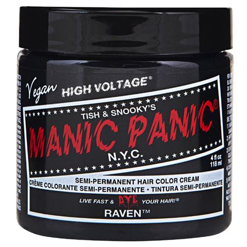 High Voltage Classic Cream Formula Raven Hair Color