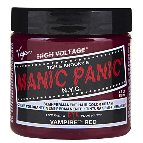 High Voltage Classic Cream Formula Vampire Red Hair Color