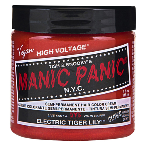 High Voltage Classic Cream Formula Electric Tiger Lily Hair Color